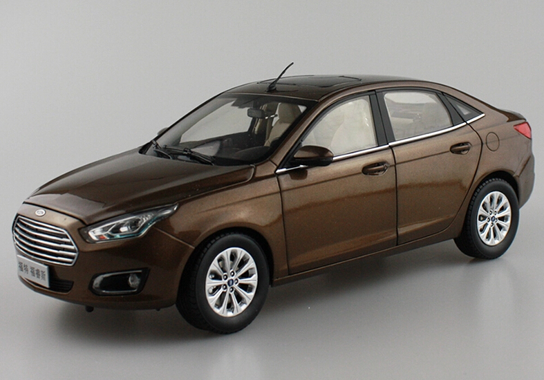 2015 hot sell Ford ESCORT 1:18 alloy car model(China (Mainland))