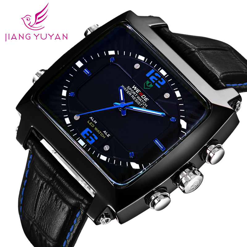 WEIDE the new 30 meters waterproof multi-function watches mens high-end aliexpress on behalf of<br><br>Aliexpress