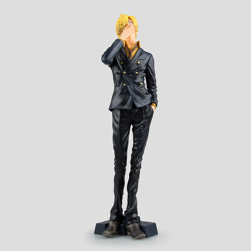 One Piece Action Figures King of Artist The Sanji PVC Doll font b Anime b font