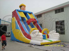 Cheap Giant Commercial Jumping Castle Game Inflatable Slide Toys(China (Mainland))