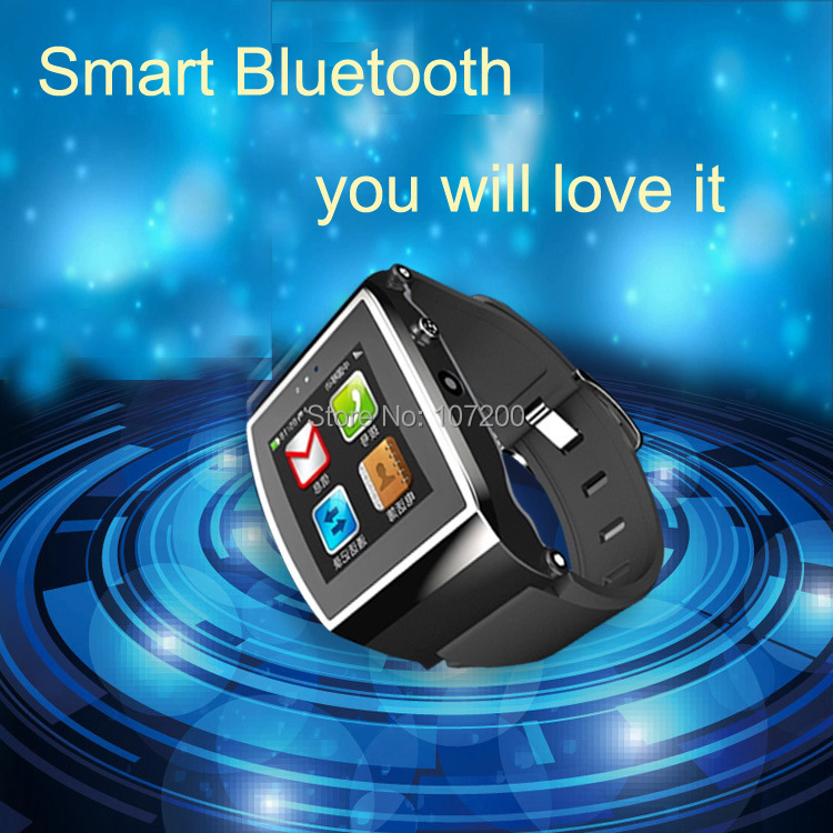 Bluetooth Smart Watch Wrist Phone mp3 player iphone 4S/5/5C/5S Android Samsung S2/S3/S4/Note 2/Note 3 HTC Nokia - Lino Electronics Mall store