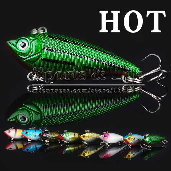 Metal Lures VIB fishing lures Fishing Lure Spoon hard bait - Shenzhen Kobee Plastic Rubber Product Limited store