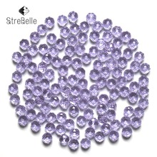 Buy Czech Seed Rondelle Beads 100pcs/lot 3x4mm Faceted Crystal DIY Jewelry Faceted 5040 Glass Crystal Beads Spacer for $2.87 in AliExpress store