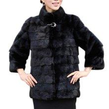 Зимнее Пальто Женщины высококачественные Элегантных Женщин Твердые Пальто Манто Femme Кролика Шуба Плюс Размер Женщина Верхняя Одежда(China (Mainland))