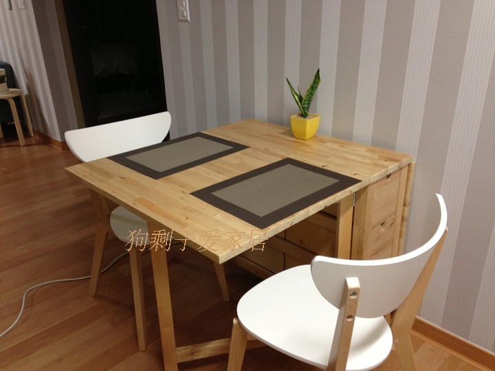 wood folding tables table IKEA Norton butterfly tables in Nail Tables
