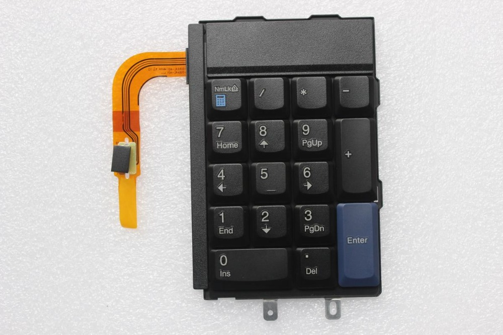 New/Orig Numeric Keyboard Number Pad for ThinkPad Lenovo W700 W701 W700DS W701DS Digit Keyboard Numeric Keypad 42T3903 42T3902(Hong Kong)