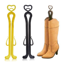 Women Boot Rack with Drying Agent Deodorization Clip Plastics High Top Boot Shaper Stretcher Shoes Hanger shoe holder(China (Mainland))