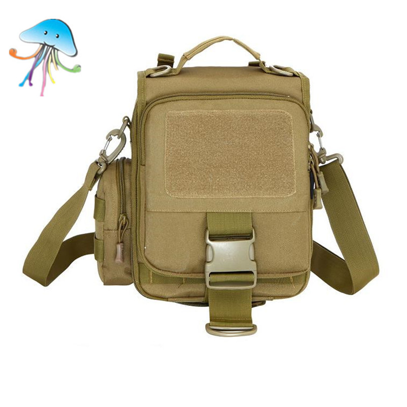 Unisex Military Style Camera Handbags Tactical Gear Best Tactical Shoulder Packs Army Camouflage Fashion Zipper Trunk Bags(China (Mainland))