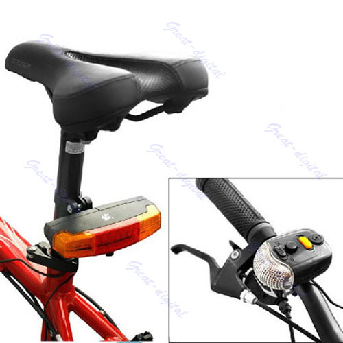 велосипед сигнала поворота