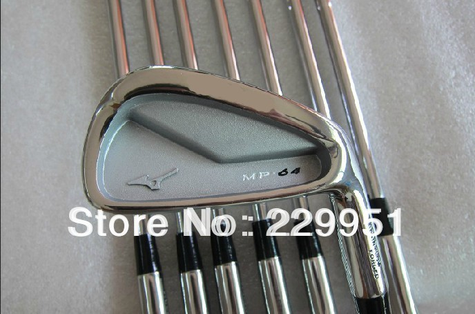 new MP64 Golf Irons Set 3#~9P With Steel Shaft top quality Golf Clubs Free Shipping(China (Mainland))