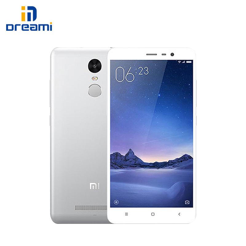 "Original Xiaomi Redmi Note 3 Pro Prime Snapdragon 650 3G/32G 16ML 1080P 5.5"" Screen Hexa-Core Dual-Sim Card Slot Smart Phone(Hong Kong)"