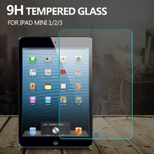 0.33mm Premium Tempered Glass for iPad Mini 1 2 3 9H Hard High Transparent Screen Protector for Ipad mini 1 2 3 original glass(China (Mainland))