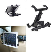 Car Back Seat Headrest Mount Holder For iPad 3/4/5 Tablet SAMSUNG tab Tablet PC Stands Free Shipping