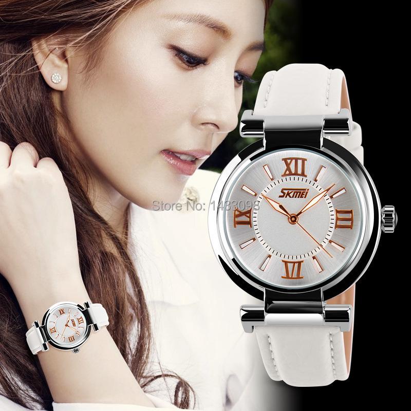 Free Shipping 2014 Hot Sale Ladies's Fashion Diamond Waterproof leisure Wrist Watch(China (Mainland))