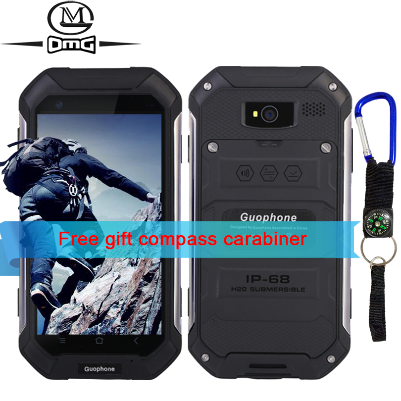 Guophone v19 IP68 Waterproof shockproof mobile phone 4.5 inch MTK6580 Quad Core Android 6.0 3G smartphone 4500mAh Outdoor phones(China (Mainland))