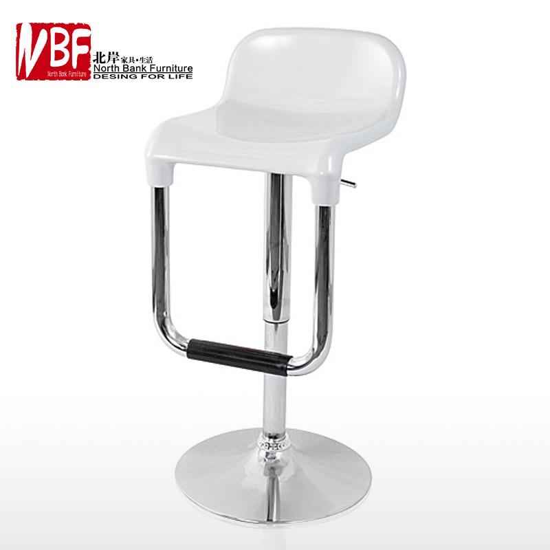 Furniture Plastic Steel Plate High Foot Salon Chair Lift