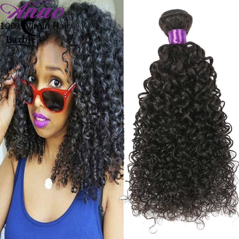 4 Bundles Brazilian Kinky Curly Virgin Hair 100g/pcs Rosa Hair Products Virgin Brazilian Curly Hair 100% Curly Weave Human Hair