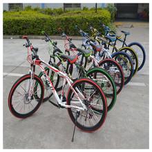 2015 New Fashion Mountain Bike Jalan Karbon 21 Speed & 24 Speed High Quality Bicicleta 26 With 5 Colors(China (Mainland))