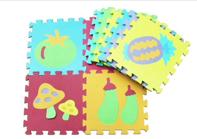 Baby EVA Foam Play Mats Crawling Mat Kids Floor Mat Puzzle Jigsaw Puzzle For Children 30*30(China (Mainland))