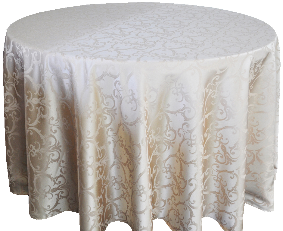 Round Tablecloth Damask Polyester Tablecloth Tablecloths For Wedding Jacquard Table Cover Table Cloth Round(China (Mainland))