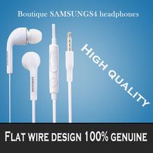 Brand new 3.5mm  Headphones Stereo Headset Headphone Earphone With Volume&Mic for Samsung Galaxy S2 S3 S4 S5 Note 2 3 4 xedain(China (Mainland))