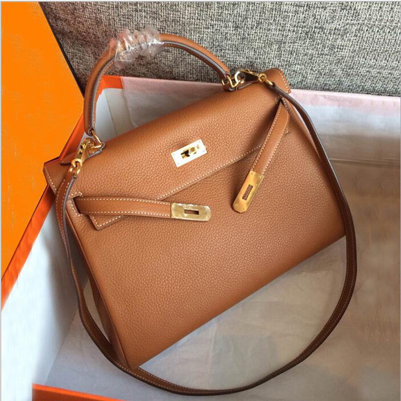 Genuine Leather Shoulder Bag Ladies Hand Bags Handbags Women Famous Brands Luxury Handbags Women Bags Designer 2016 Clutch