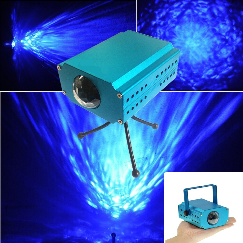 LED water wave effect light projector Water Wave Effect LED Light Projector Stage Lighting Lamp For Wedding Party KTV(China (Mainland))