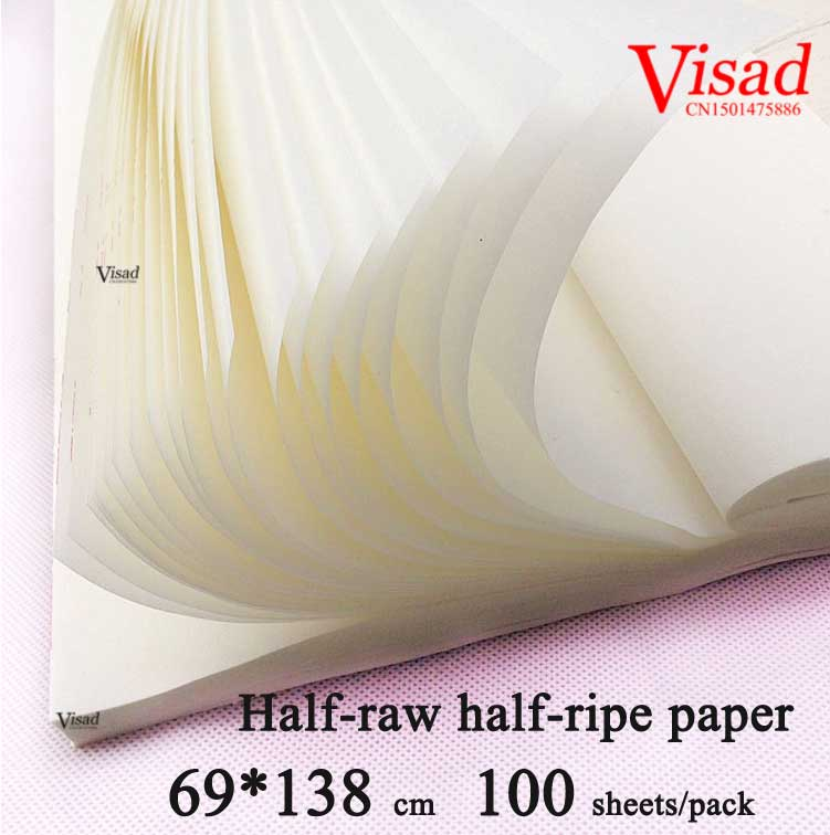 Chinese rice Paper Painting Calligraphy paper art paper Painting darwing supplies Half-raw half-ripe xuan paper<br><br>Aliexpress
