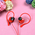 Cartoon hello kitty Headphones gifts to children 3 5mm Headset EarHook Earphone For Mp3 Player Computer