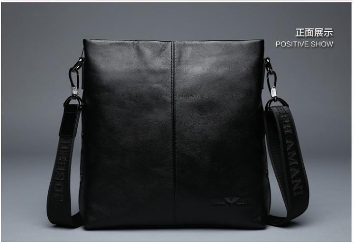 "Famous Josephamani Brand new brifcase Genuine cow leather men messenger bag man fashion shoulder bag brifcase for 14""computer(China (Mainland))"