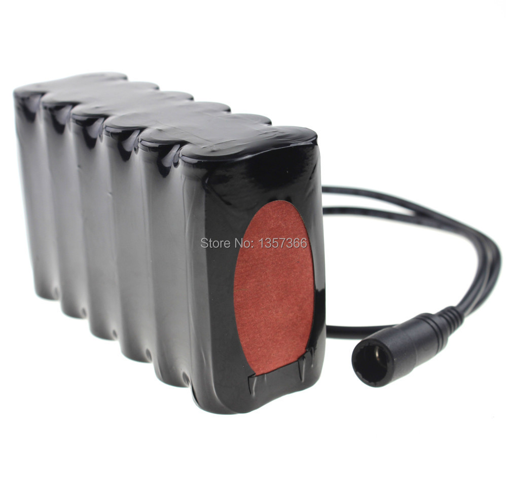 8.4v16000mAh 12x18650 Rechargeable Li-ion Battery Pack For LED Bike Bicycle Lamp Light with Bag(China (Mainland))