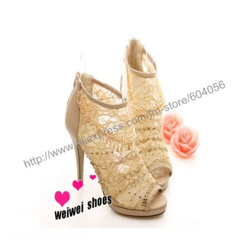 women's favorite!Department of shiny beads decorate the chain sweet diamond lace sexy sandals temperament,shoes,two colors