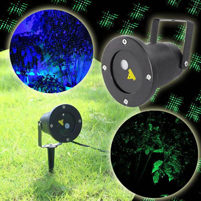 2015 SUNY Waterproof Green and Blue Home Wall Yard Led Landscape Garden Path Display Laser Projector Outdoor Christmas Lights(China (Mainland))