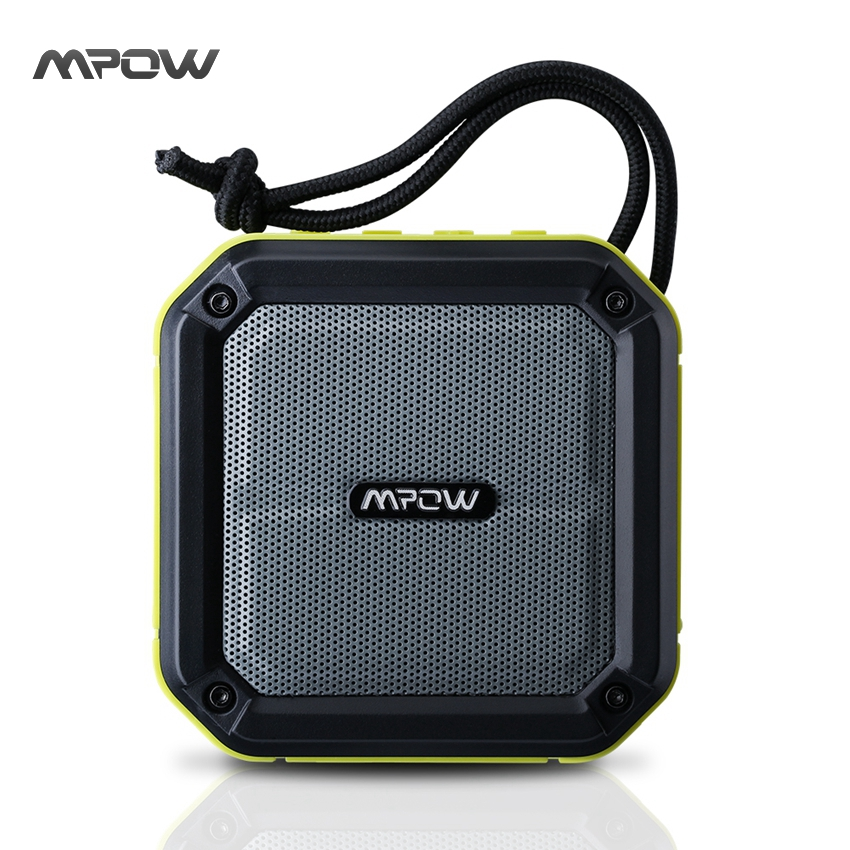 New Mpow AquaPro Portable Wireless Army Green Bluetooth Speaker with SOS Emergency Alert Waterproof Shockproof Outdoors Speakers(China (Mainland))