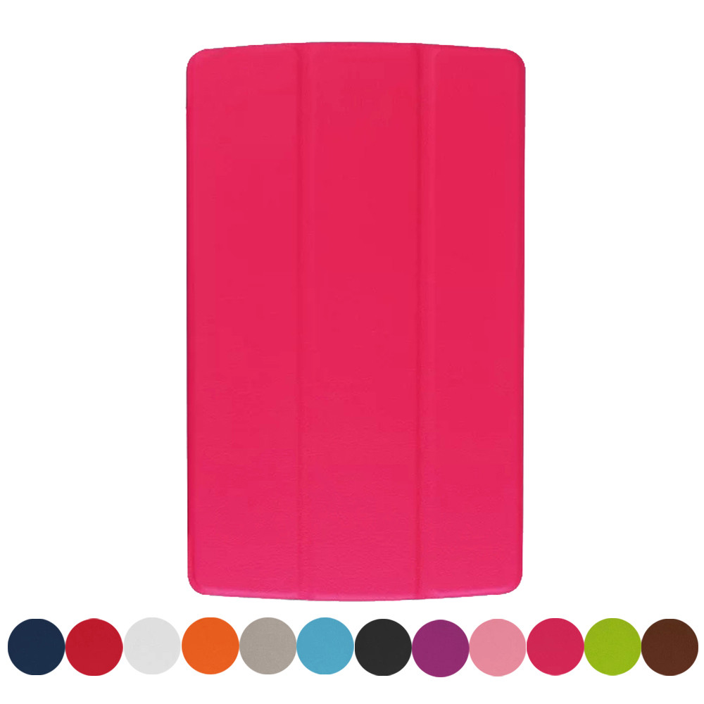 Mecall Tech Leather Case Stand Cover For LG G PAD GPAD F 8.0 Tablet Free Shipping(China (Mainland))