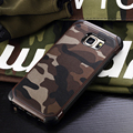 Military Camo Hard Shockproof Case For Samsung Galaxy S7 S6 Edge Plus Camouflage Cover For Samsung