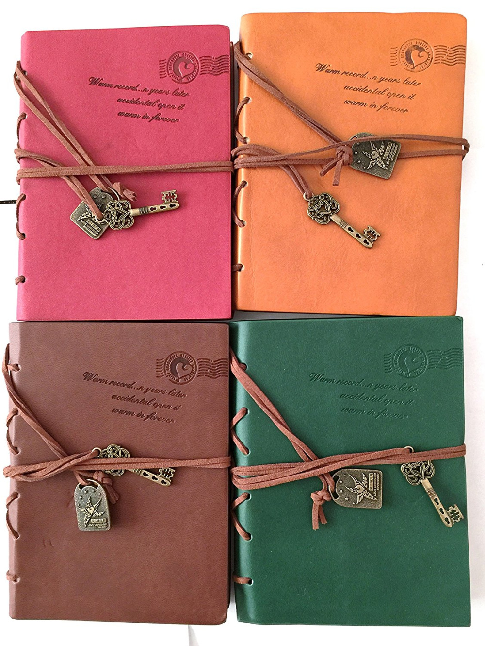 Leather bound notebook promotion shop for promotional for Classic house string sound