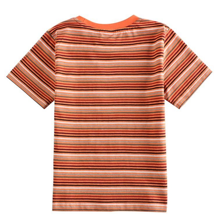 Дети Детская одежда печатных покоя Тигр мальчиков рубашки Нова детей носить летние повседневные короткие t рубашку для ребенка мальчики c5830