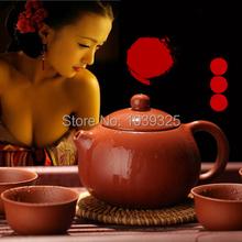 Drinkware Coffee Tea Sets New 2014 Yixing Purple Teapot 3 Pieces Set Tea Service Tea Cup