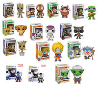 2015 Funko POP All series styles ( elsa anna  dragonball Guardians of the Galaxy Star War avengers minion) Action Figure