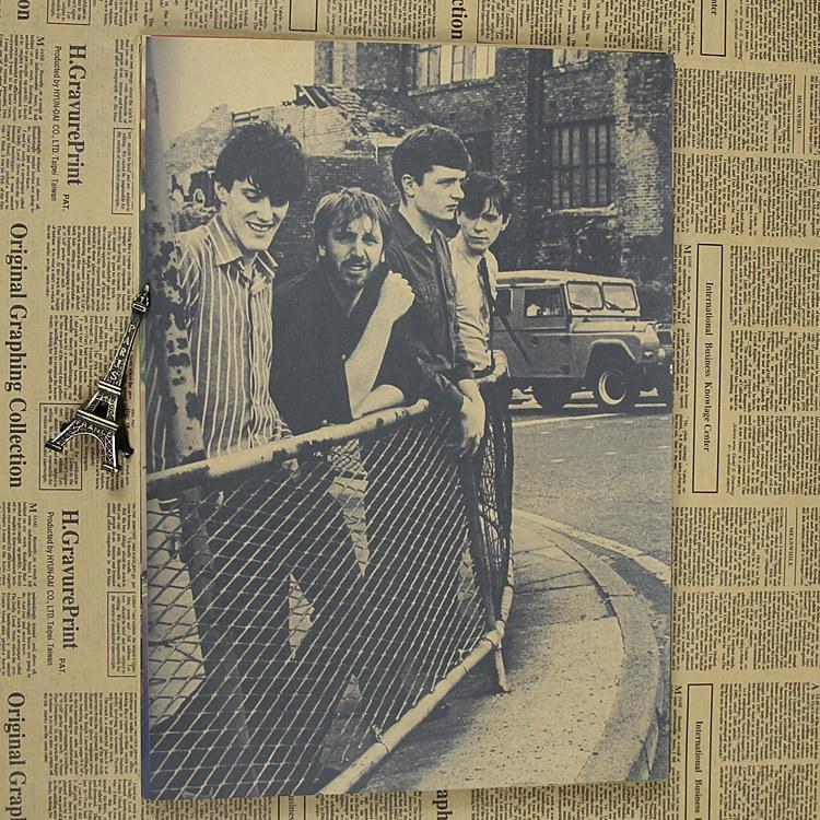 Vintage Poster Division Joy happy split Kraft retro retro rock old poster post punk band painting retro poster 30x21cm(China (Mainland))