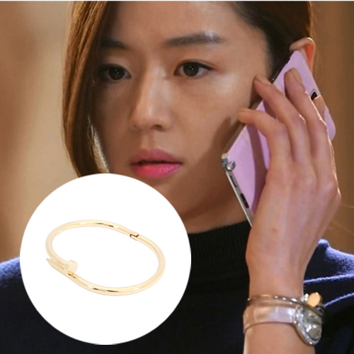 Kpop Fashion Alloy nail chain woman bracelets &amp; bangles Korean tv series drama My Love From The Star you who came from the stars<br><br>Aliexpress