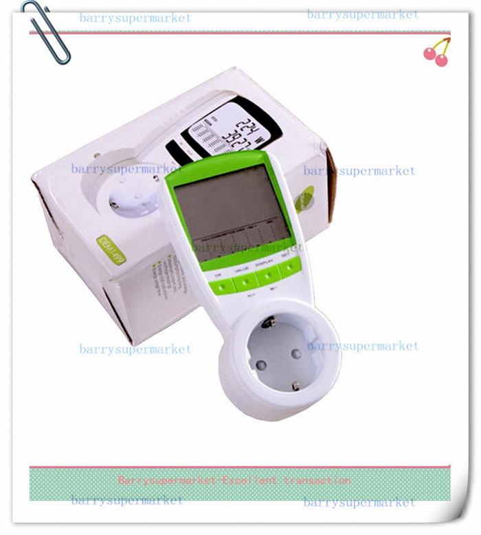 30pc EU Plug Electric Energy Saving Power Meter Consumption Monitor Analyzer EU Meter Wireless Watt Consumption Monitor Analyzer