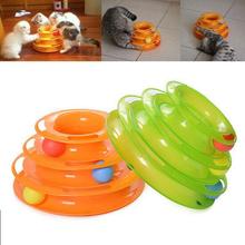 Latest styles Three Disc Intelligence Amusement Rides Shelf Cat Dog Pet Toy Pet Accessories(China (Mainland))