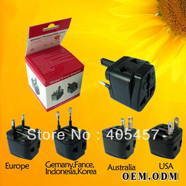 MINI Travel plug adapter,mobile phone/MP4/PDA/camera/USB light/USB fan/beard knives/notebooks/hair dryer/camera plug kit,WAT(China (Mainland))