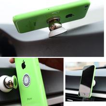 New 360 Degree Universal Car Holder Magnetic Holder for samsung car holder mobile phone holder For iPhone 4 4S 5 5S 6 6 Plus 6S(China (Mainland))
