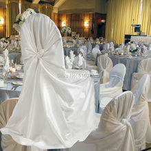 White Satin Chair Cover 110cm*140cm