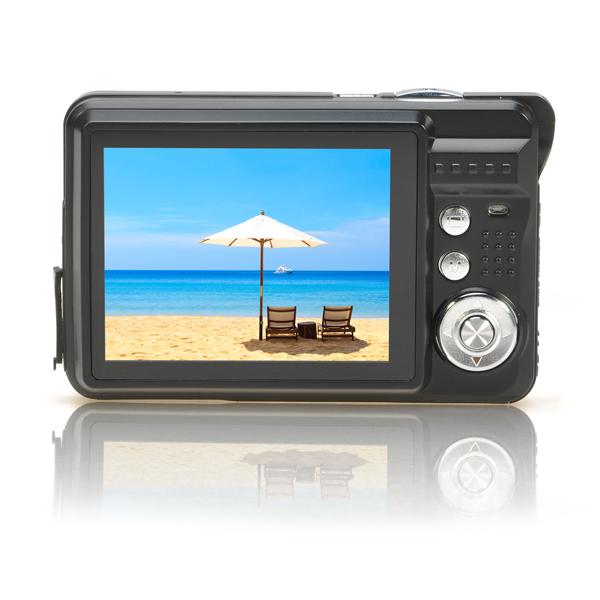 Cheap 18 Mega Pixel CMOS 2 7 inch TFT LCD Screen HD 720P Digital Camera 8x