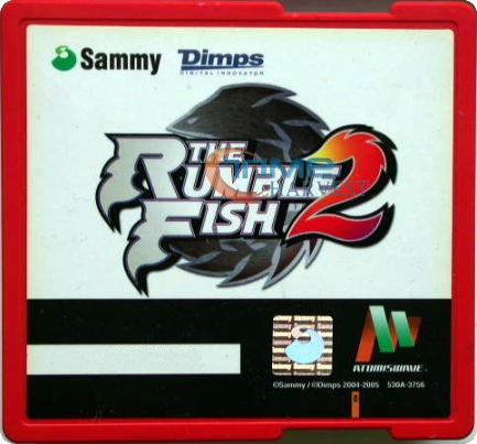 Rumble Fish 2 Sammy game card/arcade game Atomiswave system/upper game card PCB for sammy mother board/arcade game motherboard(China (Mainland))