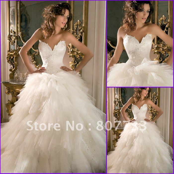 romantic wedding dress designers